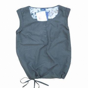 Ladies woven blouse